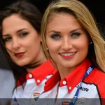 Galeria: Grid Girls World Superbike Imola 2014