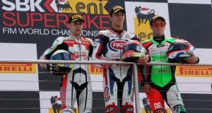 wyscig+world+supersport+donington+park+podium