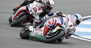 Guintoli zadowolony z postępów Hondy w World Superbike