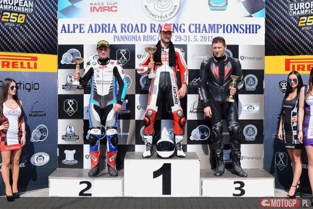 Podium Marcin Walkowiak Ducati Torun Team