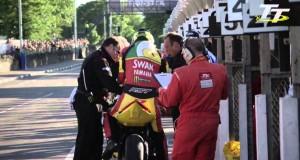 Wideo: Ian Hutchinson wygrywa wyścig Supersport