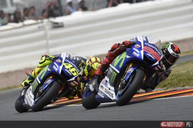 Jorge Lorenzo i Valentino Rossi