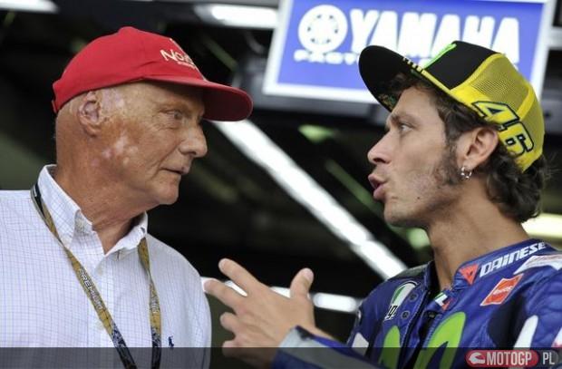 Lauda, Rossi