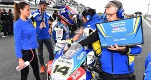 DE PUNIET Randy (FRA) VOLTCOM Crescent  Suzuki Suzuki GSX-R1000 Superbike  WSBK France (Circuit Magny-Cours) 2-4/10.2015 PSP/ Lukasz Swiderek www.photoPSP.com