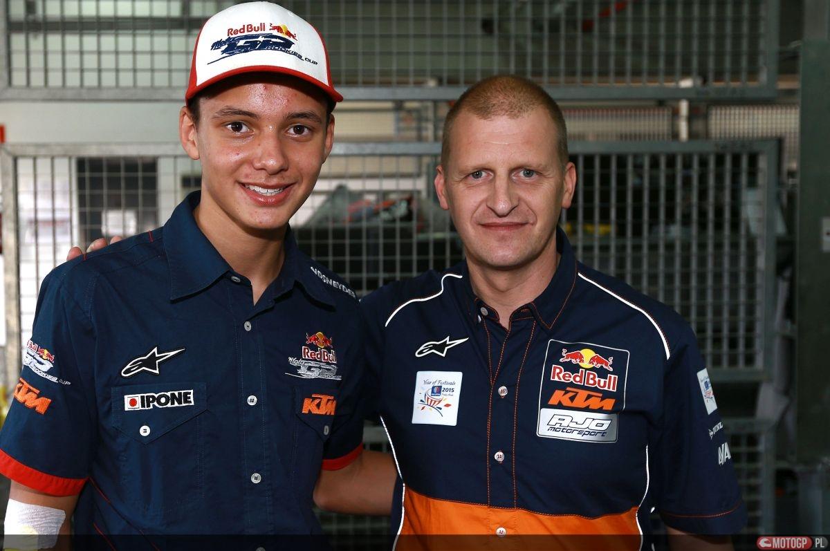 Bendsneyder and Aki Ajo, Aragon MotoGP 2015