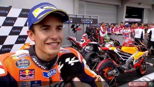 Wideo: Marquez, Zarco i Pawi po GP Niemiec