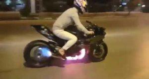 Wideo: Kenan Sofuoglu szaleje Kawasaki H2R na ulicach