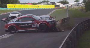 Wideo: Chaz Davies rozbija Audi w wyścigu