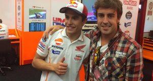 Marc Marquez, Fernando Alonso