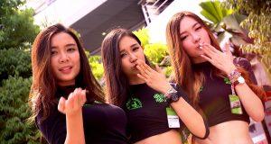 Wideo: Dziewczyny na padoku GP Malezji