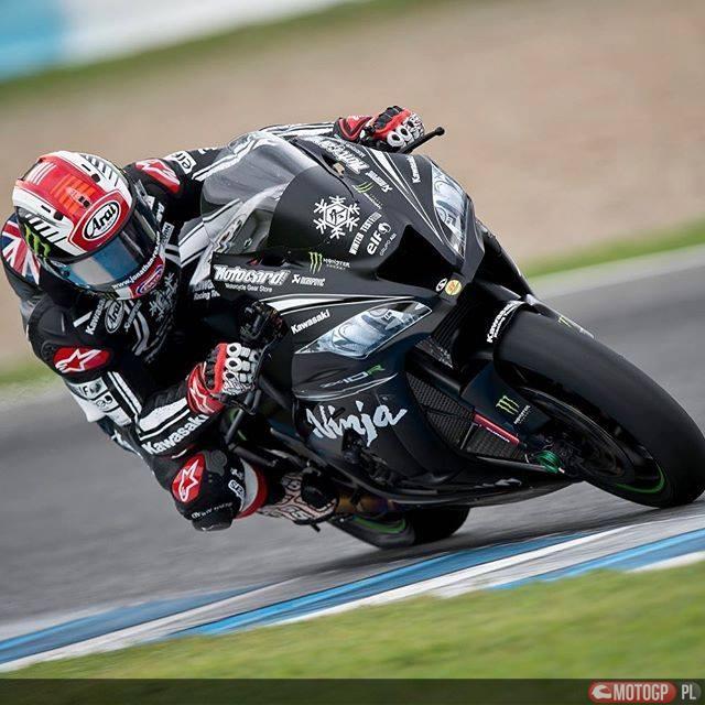 Jonathan Rea Kawasaki test