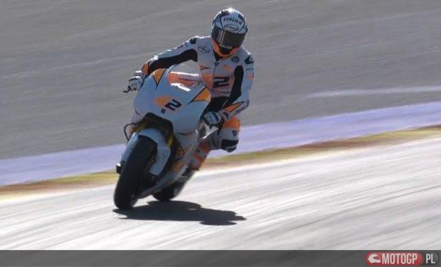 Alex Rins na motocyklu Suzuki