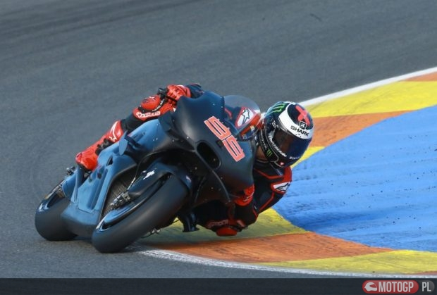 Jorge Lorenzo na motocyklu Ducati