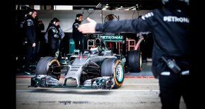 Wideo: Zobacz, jak wyglądały testy Lorenzo w Mercedesie F1