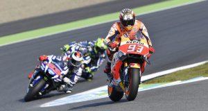 Marquez, Rossi, Lorenzo