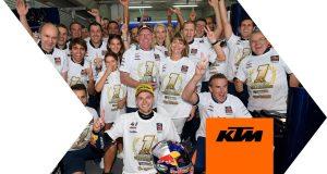 Wideo: Brad Binder i KTM świętują zdobycie tytułu mistrzowskiego