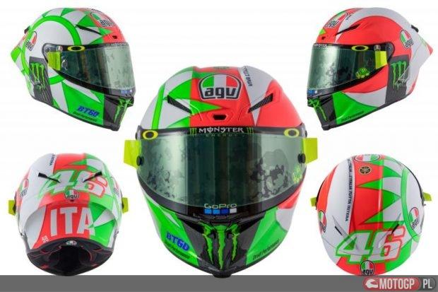 3f9b8fbf020 Rossi pokazał kask na Mugello – MOTOGP.PL